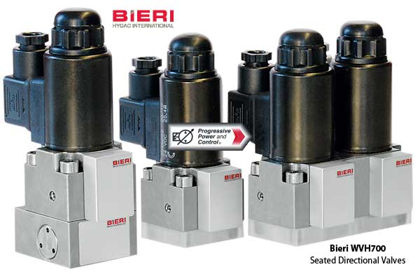Bieri WVH700 seated directional valves