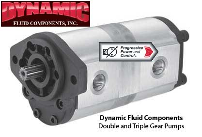 Dynamic Fluid Components  double and triple gear pumps