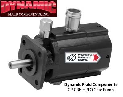 Dynamic Fluid Components GP-CBN Hi Lo Gear Pumps