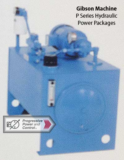 Gibson Machine Co. Hydraulic power units P series