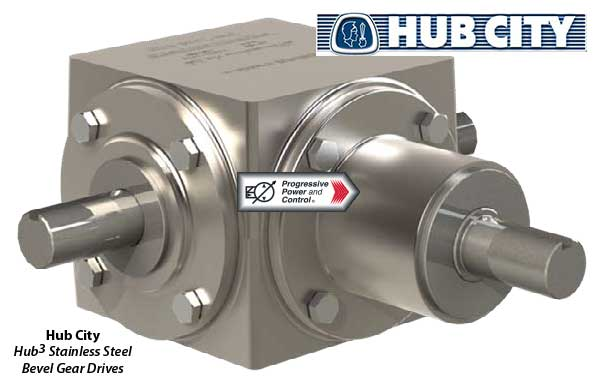 Hub3 Stainless Steel Bevel Gear Drive