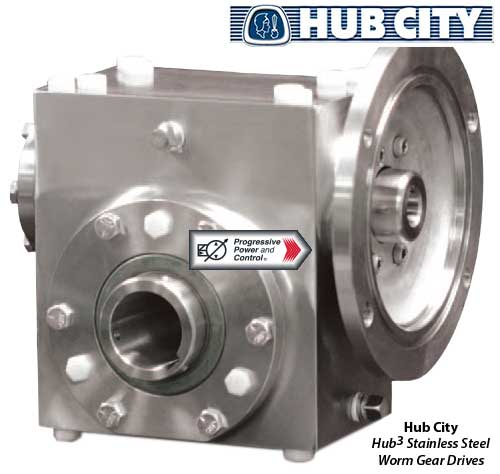 Hub City Hub3 Stainless Steel Worm Gear Drives