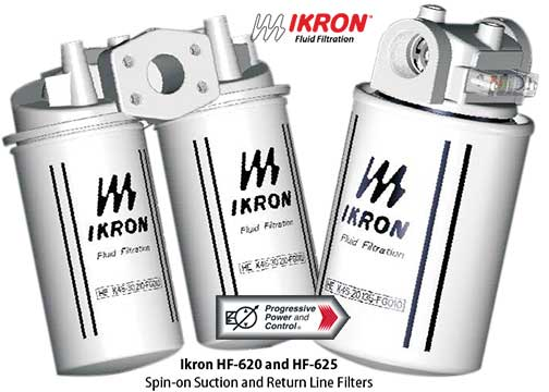 Ikron HF-620 and HF-625 inline spin on filters