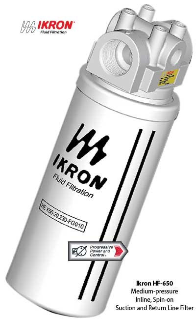 Ikron HF-650 medium-pressure inline spin-on filter