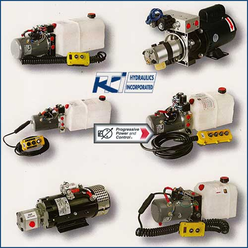 KTI Hydraulics power units and hydraulic motors