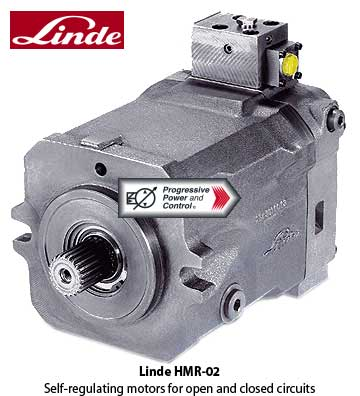 Linde HMR-02 Variable Displacement Motor