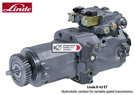 Linde K-02-ET Continuous Variable Transmission