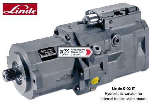 Linde K-02-IT Continuous Variable Transmission