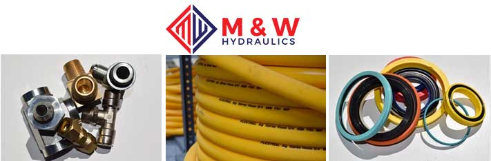 M and W hydraulic hoses, fittings and seal kits