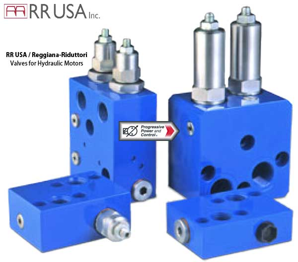RR USA valves for hydraulic motors