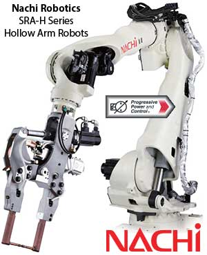 Nachi SRA-H Hollow-arm Robots