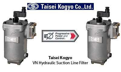 Taisei Kogyo VN hydraulic suction line filter