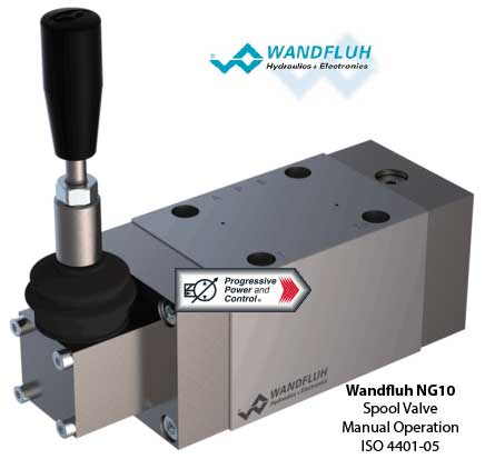 Wandfluh NG10 Spool Valve