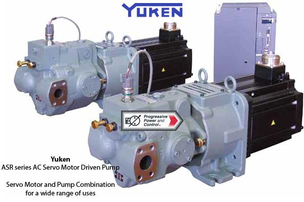 Yuken ASR Servomotor-driven Piston Pump System