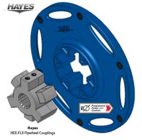 Hayes HEX-FLX flywheel coupling