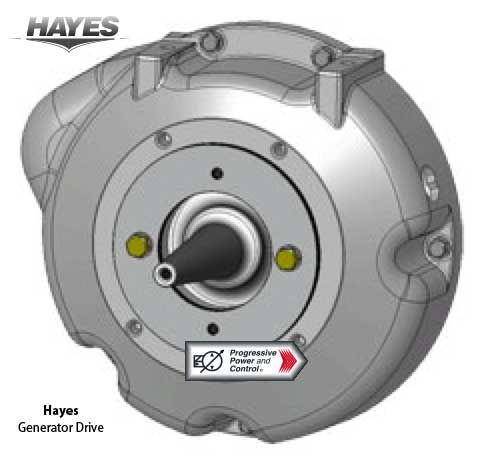 Hayes generator drive for auxilliary power units