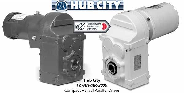 Hub City PowerRatio 2000 Compact Helical Parallel Drives