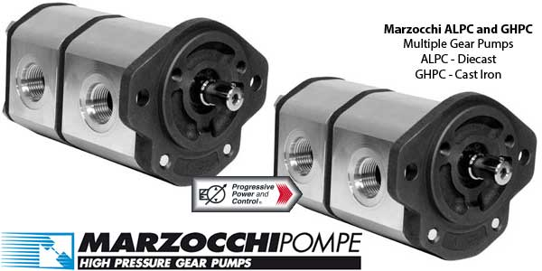 Marzocchi ALPC and GHPC Multiple Pumps