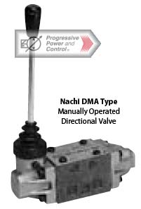 Nachi DMA manual directional valve