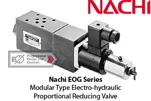 Nachi EOG Modular Type Electro-hydraulic Proportional Reducing Valve