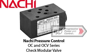 Nachi OC and OCV Check Modular Valve