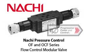Nachi OF and OCF Flow Control Modular Valve