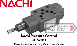 Nachi OG Pressure Reducing Modular Valve