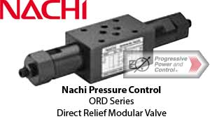 Nachi ORD Direct Relief Modular Valve