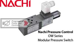 Nachi OW Modular Type Pressure Switch