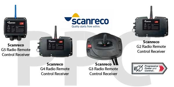 Scanreco radio remote control receivers