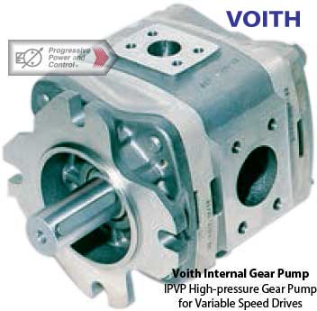 photo of Voith IPVP high-pressure internal gear pump for variable speed drives