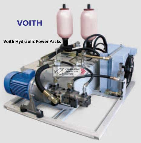 Voith hydraulic power pack photo