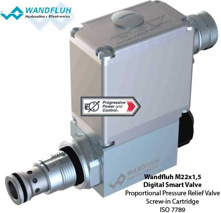 Wandfluh M22x1,5 Digital Smart Valve