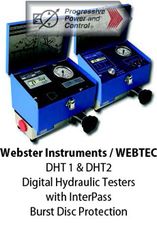 Webster Instruments/WEBTEC digital hydraulic tester DHT