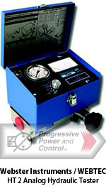 Webster Instruments/WEBTEC HT2 analog hydraulic test equipment