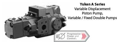 yuken A Series Double Piston Pumps – Variable and Fixed