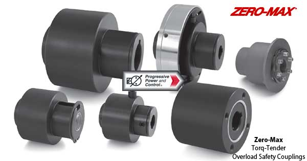 Zero-Max Torq-Tender Overload Safety Couplings