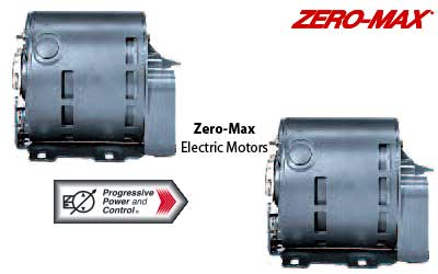 Zero-Max electric motors for hydraulic drives