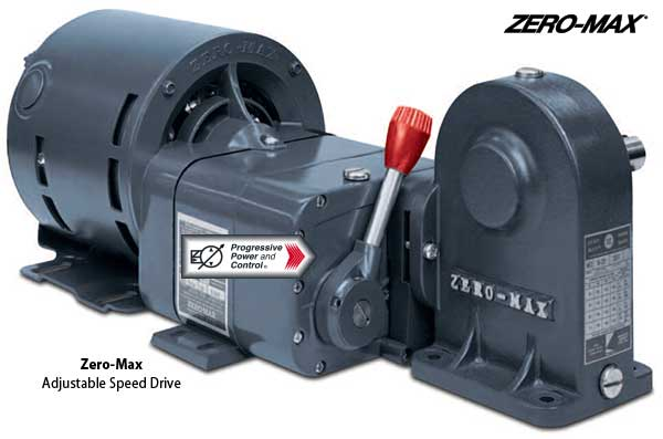 Zero-Max variable adjustable speed drives