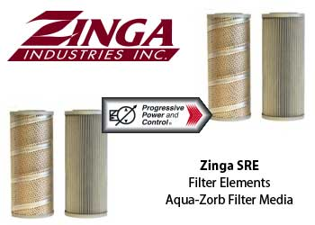 Zinga Aqua-Zord filter elements model SRE